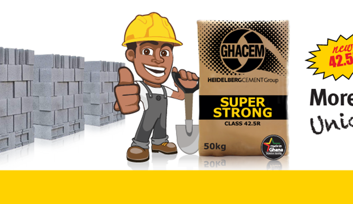 Ghacem super strong header. Ghacem 42.5 R Super Strong is the new product from Ghacem.